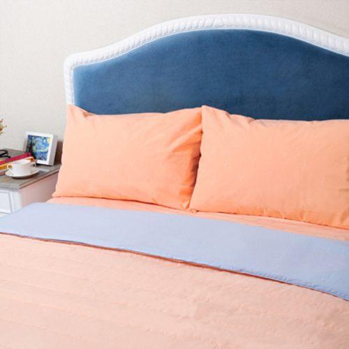 Medlight美德耐健康寢具-防蟎床組五件式-床墊套7尺+枕套大+床單7尺+二用被雙人