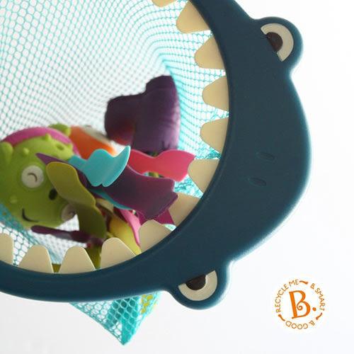 【奇買親子購物網】美國 B.Toys 鯊網揮揮