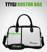 高爾夫用品包-新款TTYGJ 高爾夫衣物包 男士旅行包服裝包 荔枝紋PU球包 大容量 東川崎町