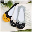 Catworld 貓咪圖樣棉質船型襪【11001944】‧F