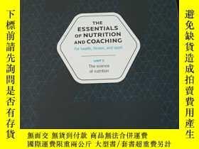 二手書博民逛書店The罕見essentials of nutrition and coaching: for health fit