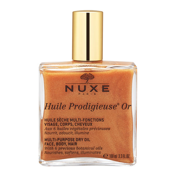 NUXE 黎可詩 Huile Prodigieuse OR 晶亮閃爍全效護理油 ( 臉、身體及頭髮 )100ml ~