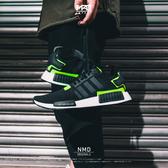 IMPACT Adidas NMD R1 Black Volt 黑 白 綠 螢光 螢光綠 輕量 百搭 男鞋 BD7751
