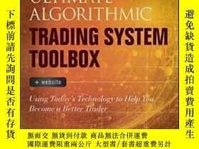 二手書博民逛書店The罕見Ultimate Algorithmic Trading System Toolbox + Websit