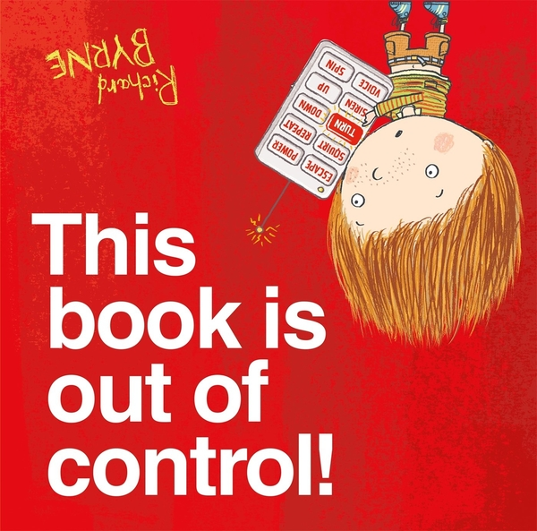 THIS BOOK IS OUT OF CONTROL! /平裝繪本《主題:想像.幽默》