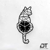 DT Time 幾何系列時鐘 幾何貓