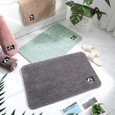 衛生間門口地墊定制入戶門墊臥室地毯廚房吸水腳墊衛浴浴室防滑墊 韓慕精品 YTL