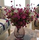 橡樹莊園 歐式現代簡約創意 玻璃花器客廳...