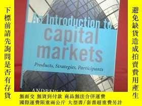 二手書博民逛書店An罕見Introduction to Capital Mark