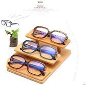防輻射眼鏡無度數防藍光近視眼睛男平鏡平面女潮平光鏡韓版眼鏡框【叢林之家】