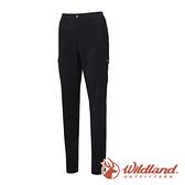 【wildland 荒野】女 日本紗彈性SUPPLEX長褲 0A61303『松葉灰』戶外 登山 休閒 雙向彈性褲