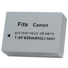 Kamera Canon NB-10L 高品質鋰電池 G1X G15 G16 G3X G3 X SX40 SX50 SX60 HS SX40HS SX50HS SX60HS 保固1年 NB10L