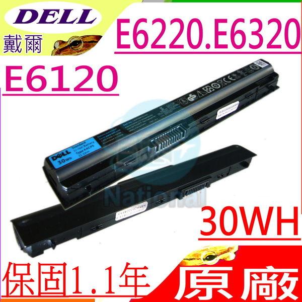 DELL 電池(原廠3芯)-戴爾 電池- LATITUDE E6120,E6220,E6320,FRROG,K4CP5,KJ321,X57F1,FRR0G,3芯11.1V