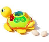 嬰幼兒益智電動玩具 萬向音樂下蛋小烏龜