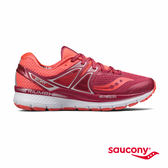 SAUCONY TRIUMPH ISO 3 專業訓練鞋款-莓果紅x粉橘