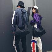 尼龍包大容量休閒側背包簡約時尚尼龍包男女短途旅行袋運動健身包包 coco衣巷