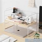 桌面置物桌面置物架桌上書架簡易書桌多層整理收納架簡約學生辦公桌 快速出貨YJT