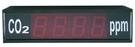 TECPEL 泰菱》CO2顯示看板+二氧化碳傳送器 另有溫濕度看板 溫度看板 噪音看板