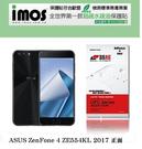 【現貨】ASUS ZenFone 4 ZE554KL  2017版 5.5吋 (正面) iMOS 3SAS 防潑水 防指紋 疏油疏水 螢幕保護貼