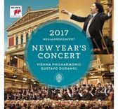 2017維也納新年音樂會 杜達美 & 維也納愛樂 雙CD (音樂影片購)
