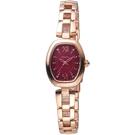 SEIKO精工VIVACE甜美時尚太陽能腕錶  V117-0EC0K SWFA180J 紅紫