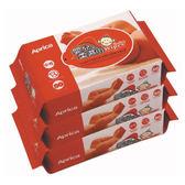 Aprica 愛普力卡-嬰兒3入柔濕巾/濕巾/濕紙巾(居家包)80抽