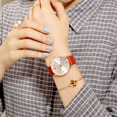 防潑水時尚款女休閒大氣女士手錶特惠免運