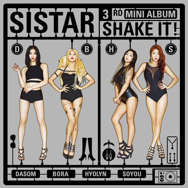 SISTAR SHAKE IT台灣首發豪華盤 CD   (購潮8)
