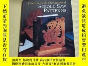 二手書博民逛書店Decorative罕見& Ornamental Scroll Saw PatternsY408729 Pat