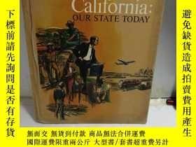 二手書博民逛書店CALIFORNIA:OUR罕見STATE TODAY(今日加州) 布面精裝Y313617 Gertrude