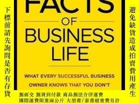 二手書博民逛書店The罕見Facts of Business Life: What Every Successful Busine