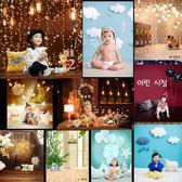 兒童攝影背景紙百天寶寶產品拍攝韓版卡通拍照迷你影樓攝影背景布訂製