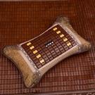 夏天枕頭茶葉家用竹席冰絲涼席單人麻將竹枕涼用夏季涼爽成人涼枕 【端午節特惠】