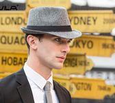 【618好康鉅惠】男春夏時尚紳士帽爵士帽女韓版潮戶外遮陽帽