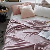 毛毯  法蘭絨秋季薄款單人珊瑚絨毯床單空調毯午睡毯午休辦公室 KB8959【野之旅】