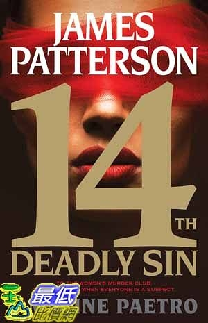 [104美國直購] 2015 美國暢銷書排行榜  14th Deadly Sin (Women s Murder Club).Hardcover
