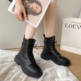 瘦瘦鞋網紅ins潮馬丁靴女夏季新款百搭春秋單靴薄款英倫風短靴子