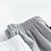 夏季薄款兒童睡衣男童女童空調家居服寶寶純棉絲光五分袖      樂芙美鞋