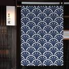 宜家►日式和風定制門簾 布藝家用臥室隔斷簾 廁所洗手間廚房 風水簾訂製 (寬65*高100cm)