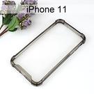 【Dapad】空壓雙料透明防摔殼 [黑邊] iPhone 11 (6.1吋)