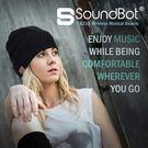美國聲霸SoundBot SB210藍牙4.1智慧藍牙毛帽隱藏式耳機