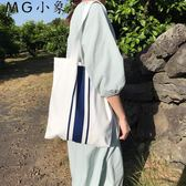 帆布包 韓版學生手提帆布包