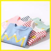 【新年鉅惠】 寶寶長袖純棉T恤春秋季打底衫上衣服秋裝男童女童新生嬰兒童秋衣