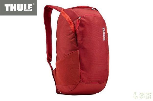 Thule 瑞典 筆記型電腦背包 EnRoute 14L 緋紅 3203587 旅行背包 休閒背包 健行背包 [易遨遊]