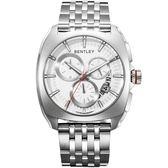 【BENTLEY】賓利 Solstice系列 黑暗紳士計時手錶 (銀 BL1681-70000)