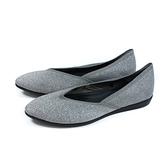 inooknit 懶人鞋 尖頭 銀色 閃粉 編織 女鞋 IK-BJ2FW0102-008 no034