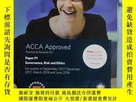 二手書博民逛書店罕見ACCA P1 Governance,Risk and Et