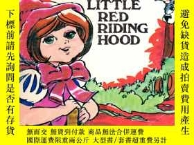 二手書博民逛書店LITTLE罕見RED RIDING HOOD 等。【英文連環畫