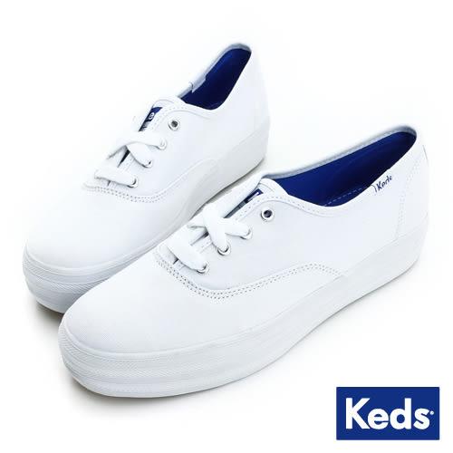 KEDS 經典厚底休閒鞋