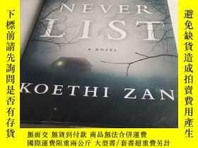 二手書博民逛書店The罕見Never List: A NovelY4211 IS